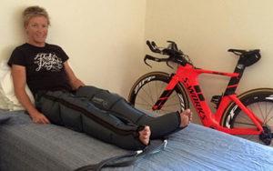 rebound recovery pump triathlete