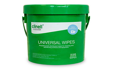 clinell disinfectant wipes buck 225