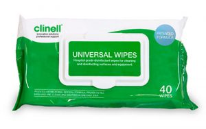 clinell wipes 40 pack