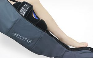 cryo-thermo band knee with compression pump