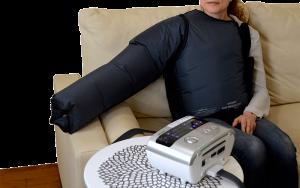 LX9 compression arm-vest garment